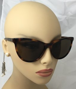 Chanel Cat Eye Pearl Chain Tortoise Sunglasses 5341H C1425/S7