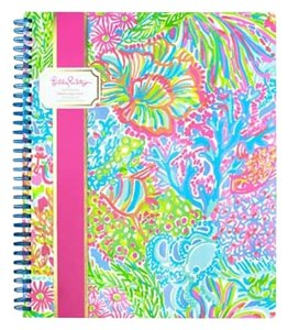 Lilly Pulitzer Multi Lovers Coral Lilly Pulitzer Large Notebook