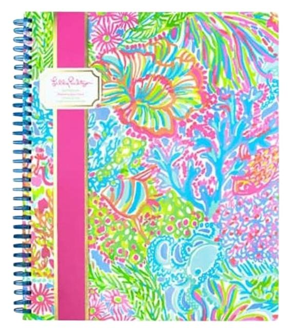 Item - Multi Lovers Coral Large Notebook Tech Accessory