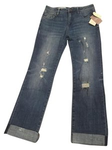 Anthropologie Limited Edition Petite Vintage Boyfriend Cut Jeans-Light Wash