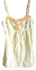 Lulumari Top Yellow cream multi