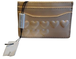 Marc Jacobs Marc Jacobs Embossed Hearts Card Case