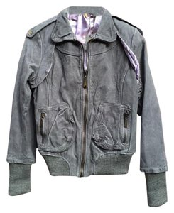 DOMA Moto Free People Biker Bomber Motorcycle Jacket