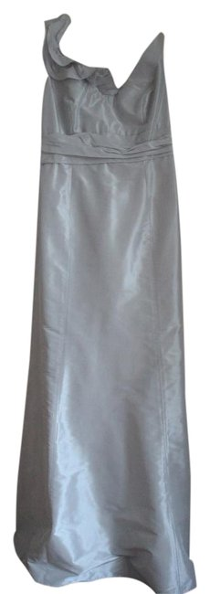 Item - Grey Long Formal Dress Size 12 (L)