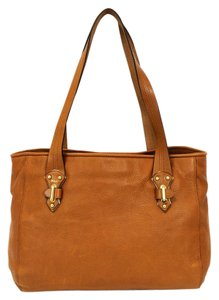 Ralph Lauren Garrison Leather Shoulder Bag