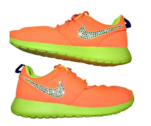 Nike Roshe Running Bling Orange Athletic