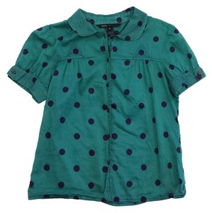 Marc Jacobs Green Polka T Shirt