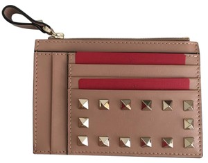 Valentino Rockstud Card Holder Holder