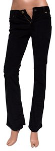 Paper Denim & Cloth Cords Boot Cut Pants Black