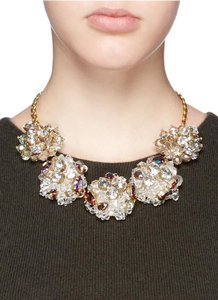 J.Crew NWOT J.CREW JEWELED GEOMETRIC PEARL NECKLACE