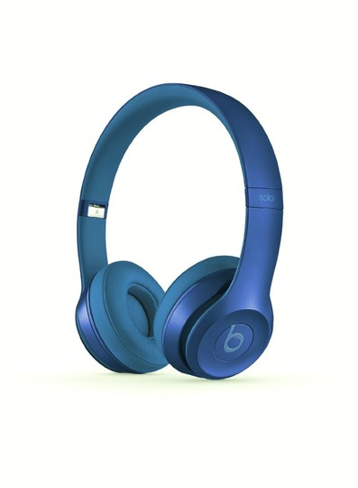 Beats New Beats Solo2 Wired On-Ear Headphones - Sapphire Blue