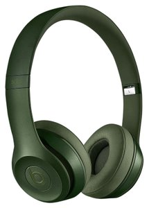 Apple Beats Solo2 Wired On-Ear Headphones - Hunter Green Highly Sought Color