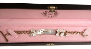 Juicy Couture Mother of Pearl Flowers Bracelet