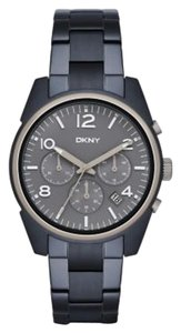 DKNY DKNY Women's Crosby Blue Metal Chronograph Watch NY2441