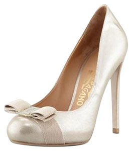 Salvatore Ferragamo Fhendi Tory Burch Metallic Pumps