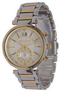 Michael Kors BRAND NEW WOMENS MICHAEL KORS (MK6225) TWO TONE SAWYER WATCH
