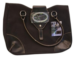 Accessory Street Computer Work Carry-on Tote in Black