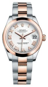 Rolex Rolex Datejust Steel and Rose Gold White Roman Dial 31mm 178241 WRO