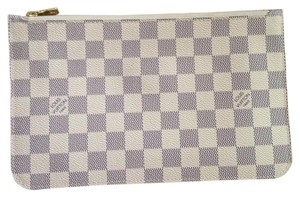 Louis Vuitton Damier Azur Neverfull MM/GM Pouch