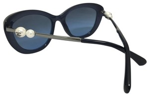 Chanel Chanel Cat Eye Fantasy Pearl Blue Sunglasses 5340H C1550/S2