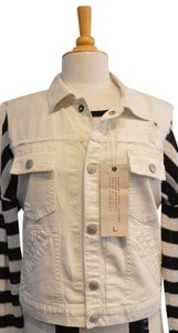 Marc by Marc Jacobs White Womens Jean Jacket