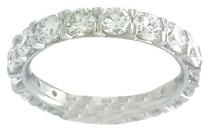 Optimal Innovation Solutions 2.70 Carat Diamond Eternity Platinum Wedding Band
