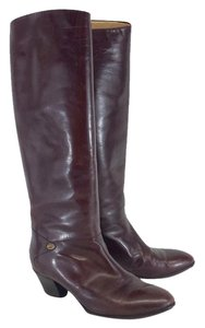 Gucci Brown Leather Riding Boots