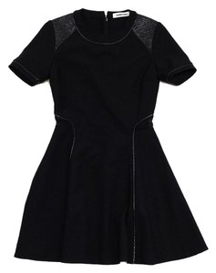 Elizabeth and James short dress Black Short Sleeve Flared on Tradesy