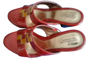Croft & Barrow Red Sandals
