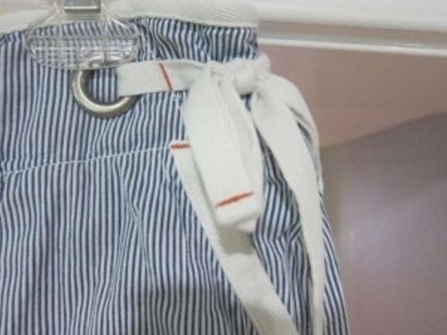 American Eagle Outfitters Mini Skirt Blue and white