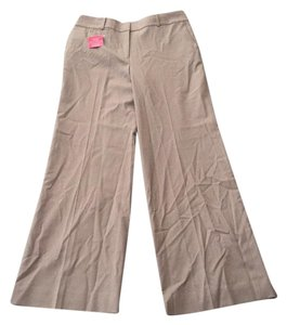 Ann Taylor Relaxed Pants Beige