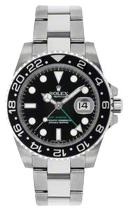 Rolex Rolex GMT-Master II Steel Black Dial 40mm 116710 BKSO