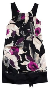 Ted Baker short dress Multi Color Floral Print Silk Sleeveless on Tradesy