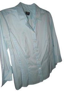 Talbots Button Down Shirt Ligth Seafoam green - c'eladon