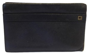 Alfred Dunhill Leather black Clutch