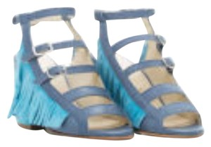 Ouigal Suede Sky Sandals