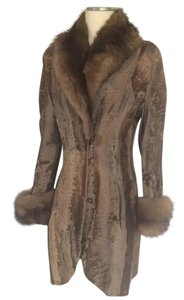 Dennis Basso Sable Broadtail Burguzinsable Fur Coat