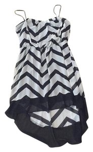 Black and White Maxi Dress by City Triangles