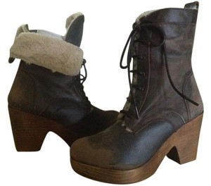 FreeBird By Steven Fiona High-ankle Brown Boots