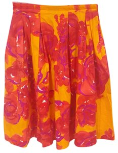 Piazza Sempione Skirt Orange, Red, Purple, White
