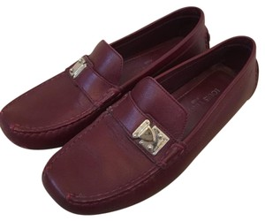 Louis Vuitton Burgundy red Flats