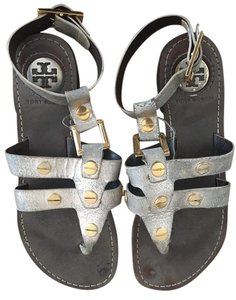 Tory Burch Metallic Sandals
