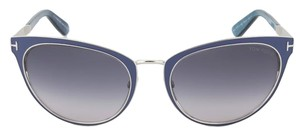 Tom Ford Tom Ford TF373 86Z Nina Sunglasses | Purple Frame | Multi-Grey Lens