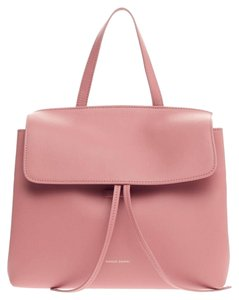 Mansur Gavriel Leather Satchel in Pink
