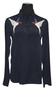 Stella McCartney Button Down Shirt Navy