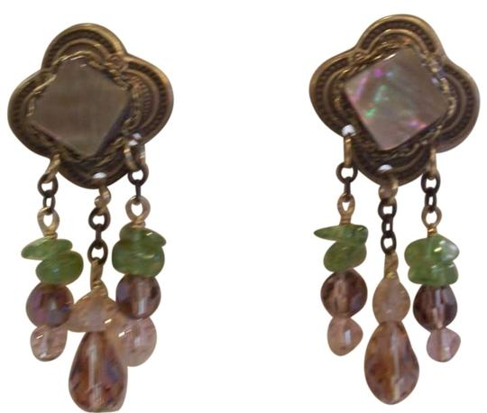 Preload https://item2.tradesy.com/images/baby-bella-maya-antique-gold-with-bronze-and-green-stones-new-earrings-189556-0-0.jpg?width=440&height=440