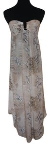 Snake print Maxi Dress by Melissa Odabash Beach Silk