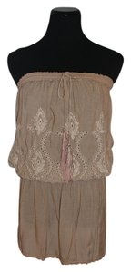 Melissa Odabash short dress brown Beach Lace on Tradesy