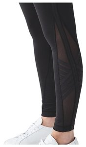 Lululemon NEW Lululemon Minimalist Tight Full Length Mesh Black Size 4