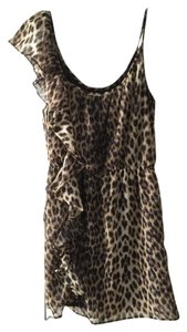 River Island short dress Leopard print on Tradesy